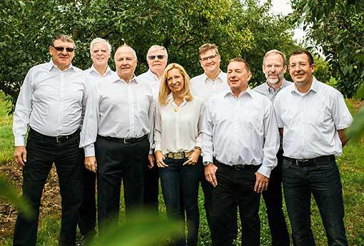 Der TVNO-Vorstand 2015