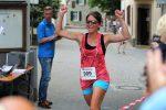 Die Übungsleiter-Allzweckwaffe des TV, Steffi Winter, absolvierte den Fünf-Kilometer-Lauf.